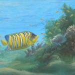 Détail du paysage sous-marin