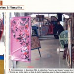 Portières peintes de 2 CV, garage Pierre à Arcueil.
