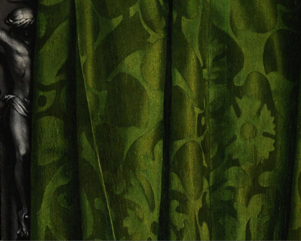 Peinture murale anamorphose for Peinture argentee murale