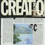 Création Magazine. Anamorphose à Gentilly.