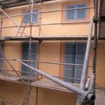 Fausse façade à Toulouse
