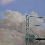 Peindre jusque dans les nuages. Saint Gratien
