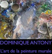 Peinture murale, fresque, trompe-l'oeil by Dominique Antony