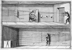 Réalisation d'une anamorphose murale, son principe et son tracé