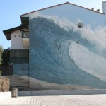 Homage à l'océan et au surf. Hossegor.