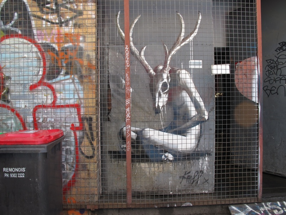 Quartier de Brunswick Street. Melbourne, Australia