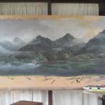 Paysage de Chine. Exposition à Shanghaï et Paris
