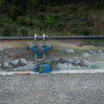 Le mur le plus long... La rivière, mur peint de 58 m de long. Bagnac-sur-Célé.