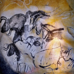 «Chauvet´s cave horses» par Thomas T.
