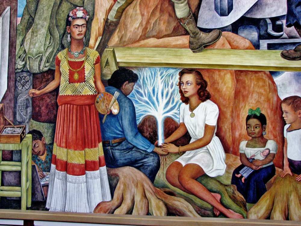 Rivera Pan American Community Mural