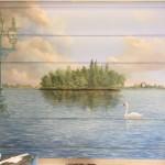 Le lac d'Enghien-les-Bains, hall d'une résidence