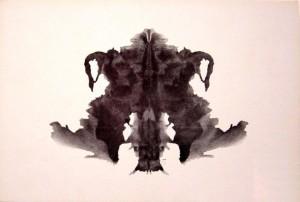Rorschach blot planche 04
