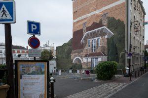 Panneau municipal de communication avec les habitants.