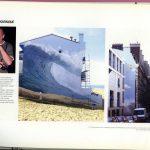 Dominique Antony, la grande vague d'Hossegor et le funambule de la rue de Islettes à Paris, France